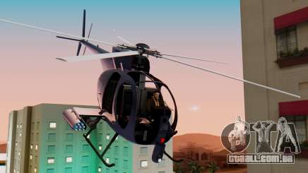 GTA 5 Buzzard para GTA San Andreas