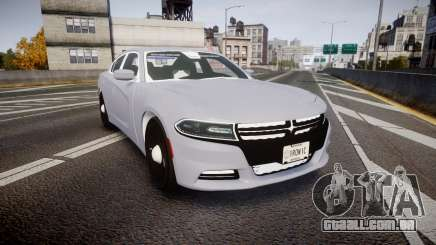 Dodge Charger 2015 Unmarked [ELS] para GTA 4