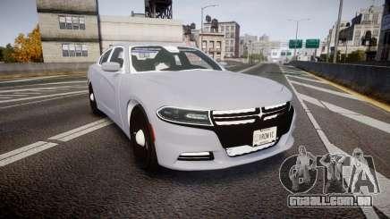 Dodge Charger 2015 Unmarked [ELS] para GTA 4