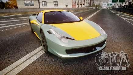 Ferrari 458 Italia Novitec Rosso 2012 para GTA 4