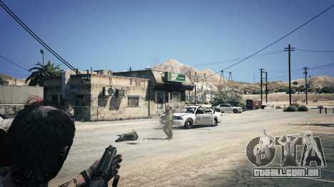 GTA 5 UTAS из Battlefield 4 sexta imagem de tela