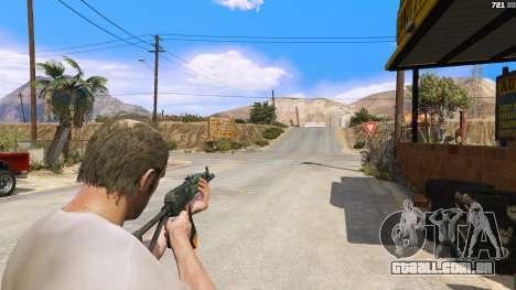 AEK-971 из Battlefield 4 para GTA 5