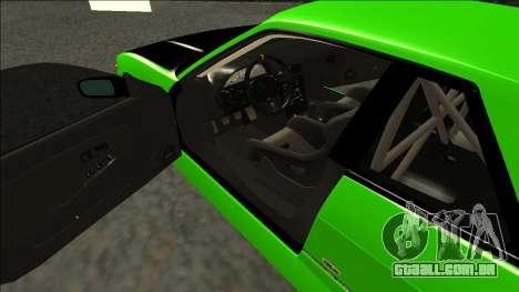Nissan Silvia S13 Drift Monster Energy para GTA San Andreas vista direita