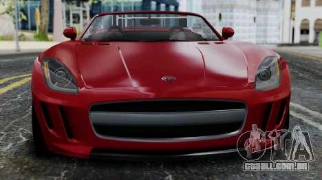 GTA 5 Benefactor Surano v2 IVF para GTA San Andreas vista interior