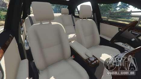 GTA 5 Mercedes-Benz S550 W221 v0.4.2 [Alpha] volante