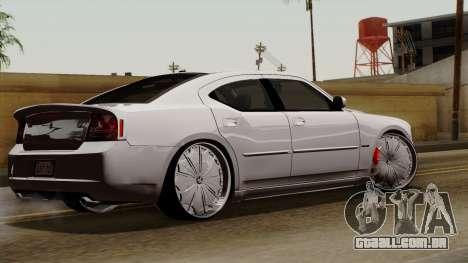 Dodge Charger 2006 DUB para GTA San Andreas esquerda vista