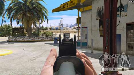 GTA 5 SAIGA de Battlefield 4 quarto screenshot
