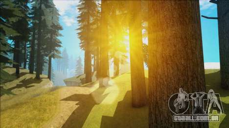 Fantastic ENB para GTA San Andreas por diante tela