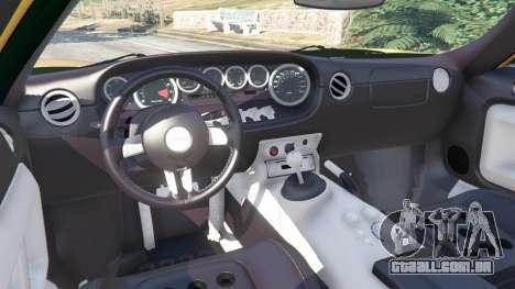 GTA 5 Ford GT 2005 v1.1 volante