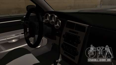 Dodge Charger 2006 DUB para GTA San Andreas vista direita