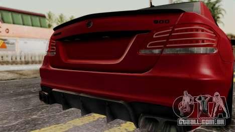 Brabus B900 para GTA San Andreas vista traseira