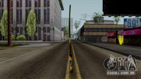 Brasileiro Katana v2 para GTA San Andreas segunda tela