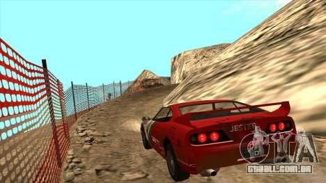 Rally Jester para GTA San Andreas esquerda vista