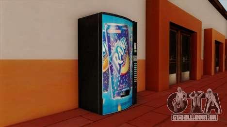 Rani Juice Machine para GTA San Andreas segunda tela