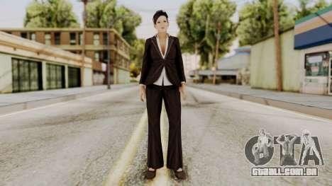 DOA 5 Miyako para GTA San Andreas segunda tela