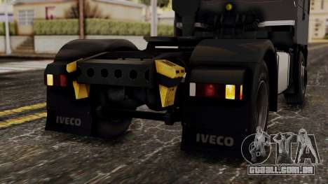 Iveco EuroStar Low Cab para GTA San Andreas vista inferior