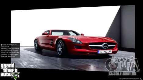 Supercars Loading Screens para GTA 5