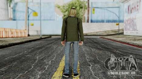 Kurt Cobain para GTA San Andreas terceira tela