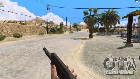 GTA 5 SAIGA de Battlefield 4 segundo screenshot