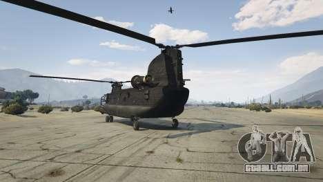 GTA 5 MH-47G Chinook terceiro screenshot