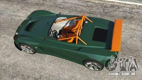 GTA 5 Lotus 2-Eleven 2009 v0.5 voltar vista