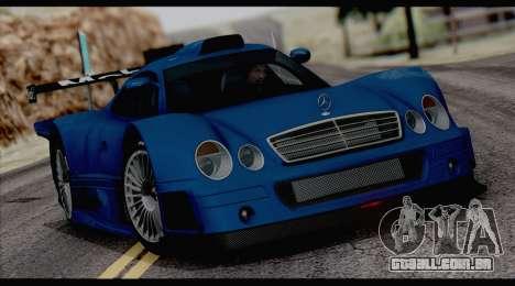 C3pot ENB para GTA San Andreas por diante tela