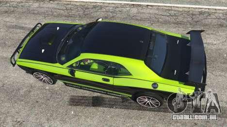 GTA 5 Dodge Challenger 2015 Shaker Furious 7 voltar vista
