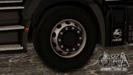 Iveco EuroStar Low Cab para GTA San Andreas traseira esquerda vista