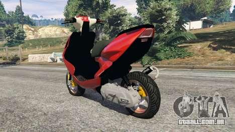 Yamaha Aerox para GTA 5