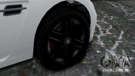 GTA 5 Benefactor Surano v2 para GTA San Andreas traseira esquerda vista