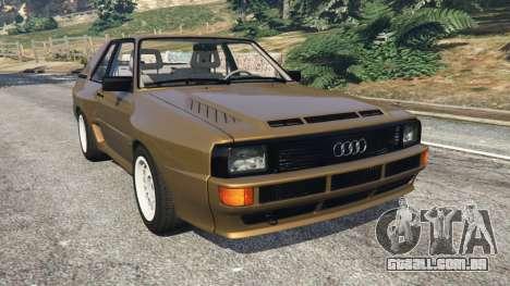 Audi Sport quattro v1.3 para GTA 5