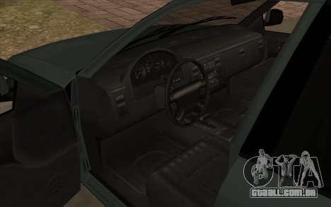 Ford Crown Victoria 1995 SA Estilo para GTA San Andreas vista interior