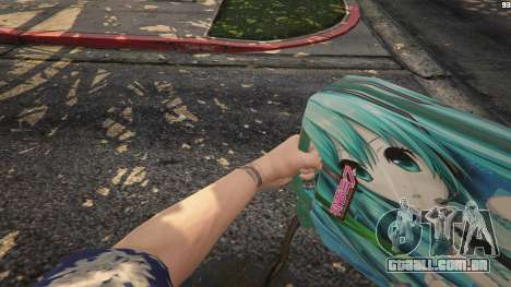 Anime canister para GTA 5