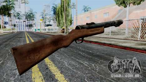 MP18 from Battlefield 1942 para GTA San Andreas segunda tela