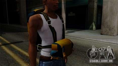 Brasileiro Parachute v2 para GTA San Andreas por diante tela