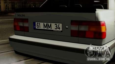 Volvo 850 para GTA San Andreas vista traseira