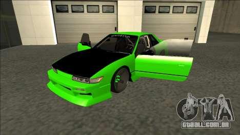 Nissan Silvia S13 Drift Monster Energy para GTA San Andreas vista traseira