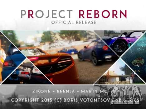 Project Reborn ENB Series para GTA San Andreas