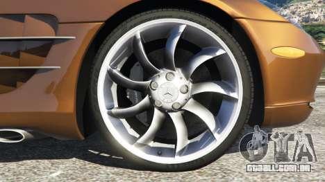 Mercedes-Benz SLR McLaren 2015 para GTA 5
