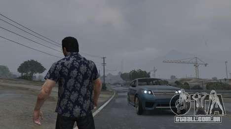 GTA 5 Realistic Thunder and Wind Sound FX segundo screenshot