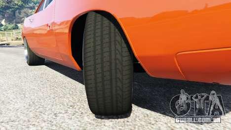 GTA 5 Dodge Charger 1970 Fast & Furious 7 vista lateral direita