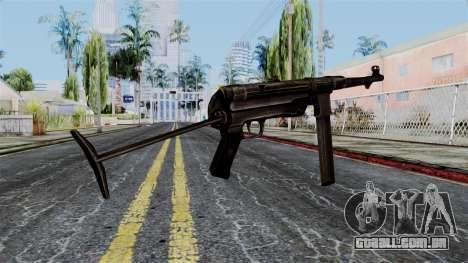 MP40 from Battlefield 1942 para GTA San Andreas segunda tela