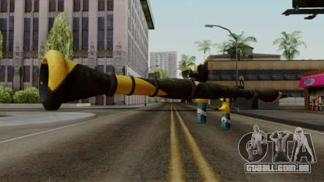 Brasileiro Rocket Launcher v2 para GTA San Andreas terceira tela