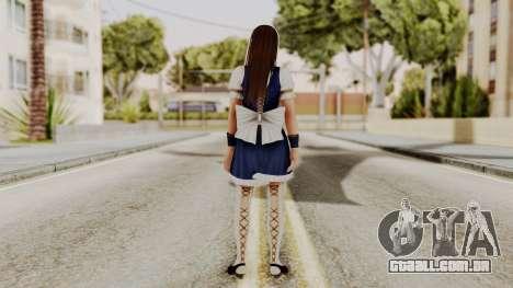 DOA 5 Leifang Maid para GTA San Andreas terceira tela