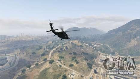 GTA 5 MH-60L Black Hawk sexta imagem de tela