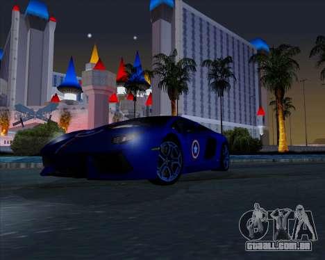 Vitesse ENB V1.1 Low PC para GTA San Andreas quinto tela