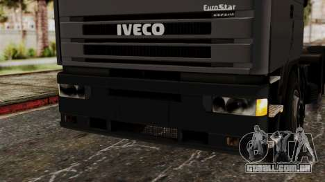 Iveco EuroStar Low Cab para vista lateral GTA San Andreas