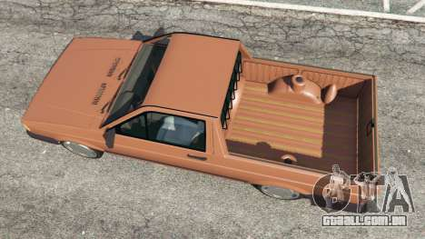 GTA 5 Volkswagen Saveiro Cli 1.6 [Edit] voltar vista