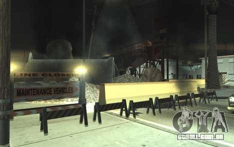 Estrada de reparação de v2.0 para GTA San Andreas segunda tela