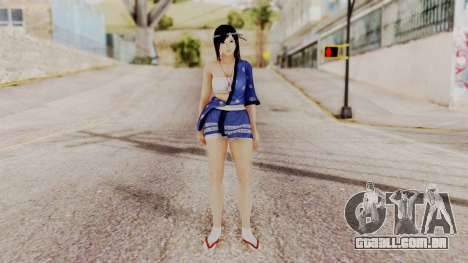 DOA 5 Kokoro DLC para GTA San Andreas segunda tela
